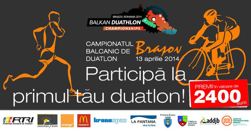 Camipionatul Balcanic de Duatlon 2014