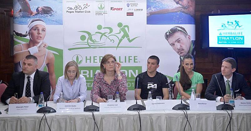 FRTRI - Pegas Triatlon Club va organiza prima editie a Hebalife Triatlon Buftea