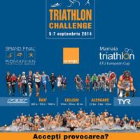 Vino sa participi la cea de a VI-a editie Triathlon Challenge Mamaia