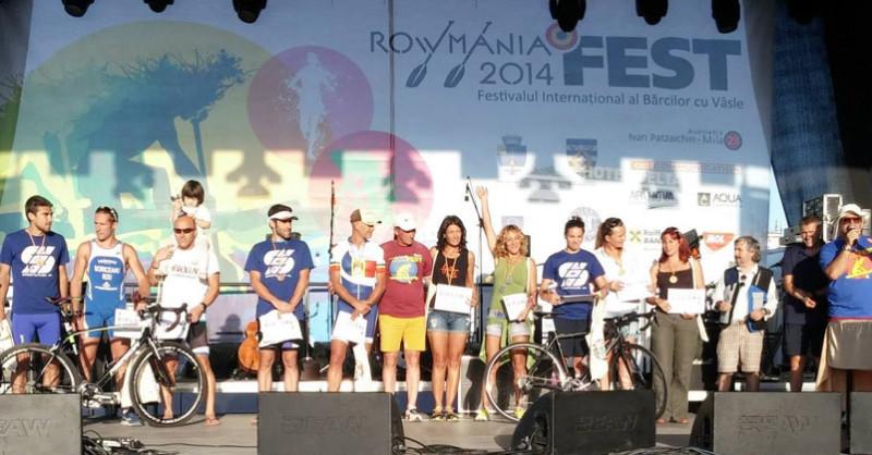 Rowmania Delta Triathlon 2014