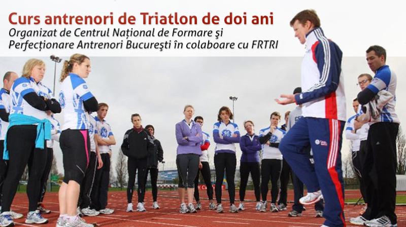 Curs Antrenori Triatlon de 2 ani