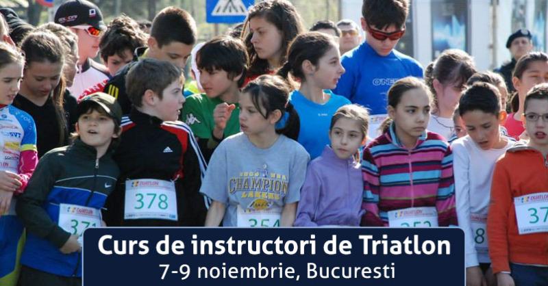 Curs instructori triatlon, noiembrie 2014