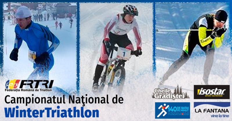 Campionatul National Wintertriathlon - 2015