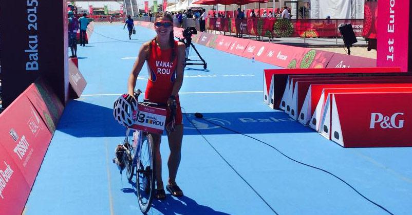 Jocurile Europene Baku 2015 - Antoanela Manac