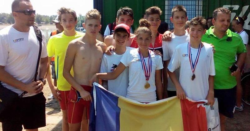 FRTRI - Campionatul Balcanic de Triatlon 2015 - Zagreb