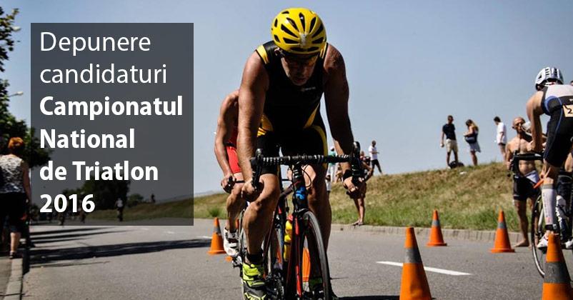 Depunere Candidaturi - CN Triatlon 2016