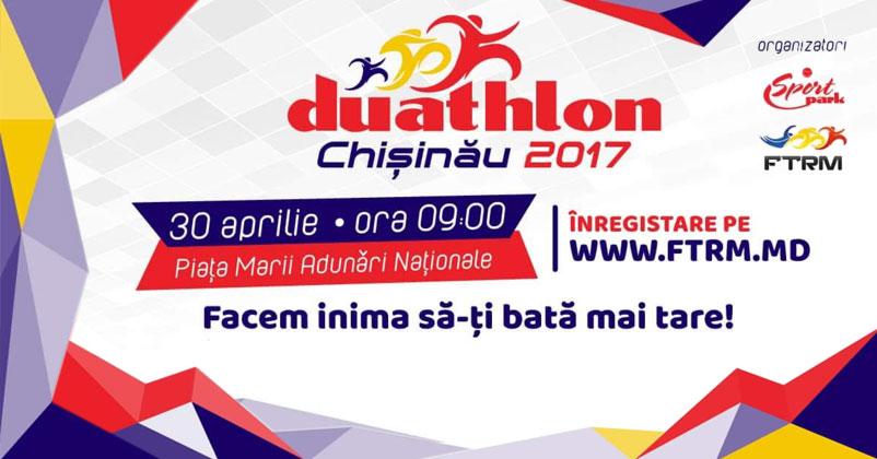 Duathlon Chișinău - prima competie organizata de Federatia de Triatlon din Republica Moldova