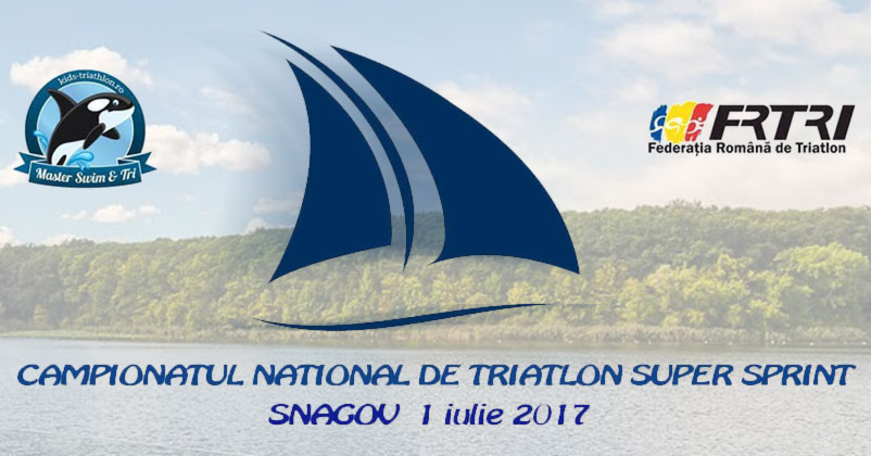 Campionatul National de Triatlon Supersprint repune Snagovul pe harta triatlonului