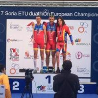 Campionatele Europene de Duatlon Soria - cronica unei zile friguroase