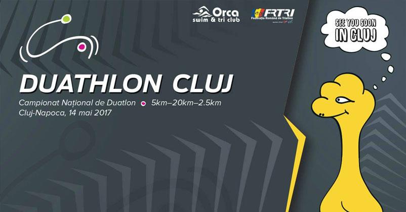 Campionatul national de Duatlon 14 mai Cluj - MODIFICARE PROGRAM!!!