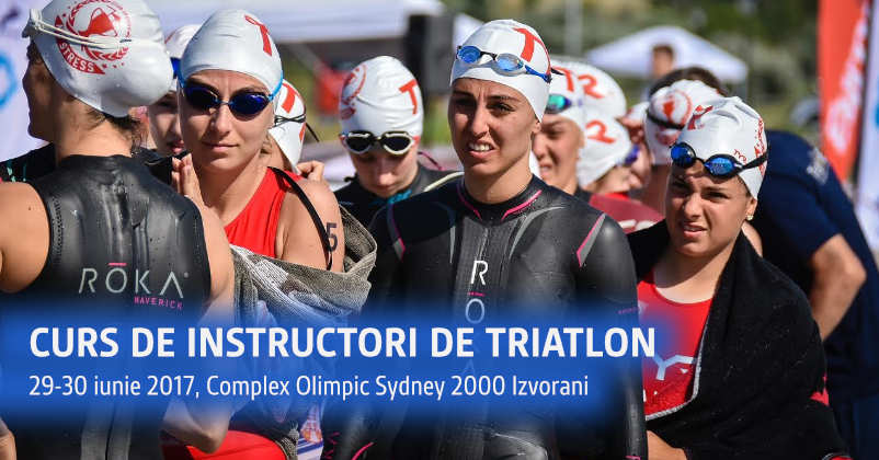 Curs instructori de triatlon, 29-30 iunie, Izvorani