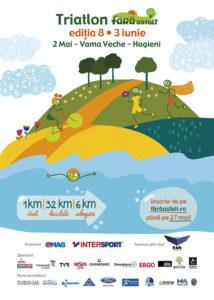 Petrece la triatlon în natură vacanța de Rusalii!