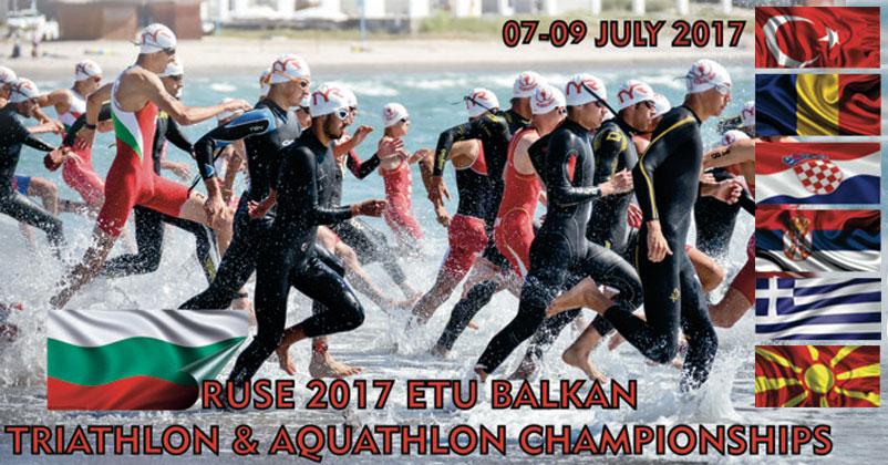 Campionatele Balcanice de Triathlon si Aquathlon 2017