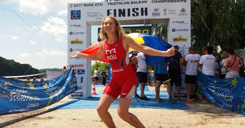 Campionatul Balcanic de Triatlon si Aquatlon - Ruse, Bulgaria 2017
