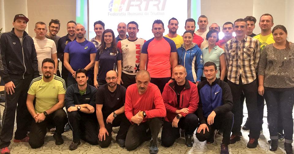 Curs de instructori de triatlon - o noua generatie