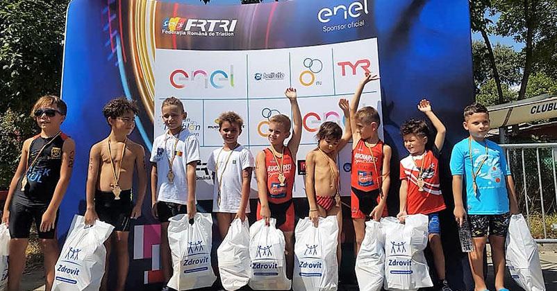 Festival de triatlon la Tulcea