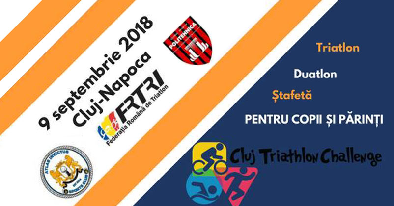 Start Campioni la Triathlon la Cluj - 9 septembrie