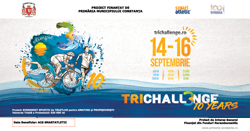 1.600 de pasionați de sport din 16 țări, la startul TriChallenge