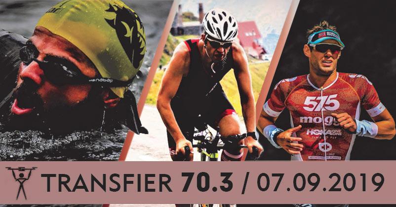 Transfier 70.3 - povestea celui mai spectaculos concurs de triatlon din România continuă în 7 septembrie 2019