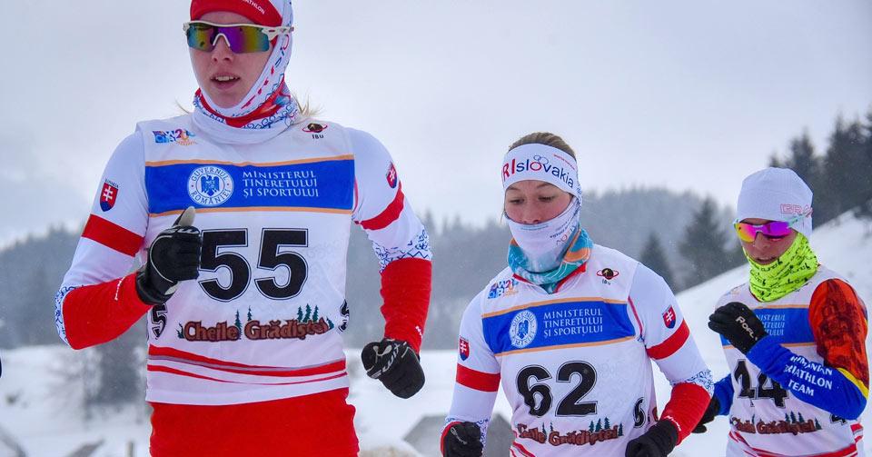 Patru medalii pentru România, la Campionatele Europene de Winter Triathlon