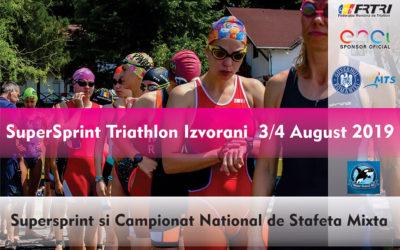 Campionatul National de Triatlon Supersprint 2019
