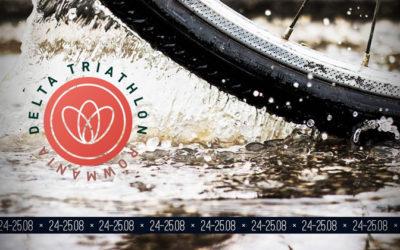 Rowmania Delta Triathlon 2019 – 24-25 august, la Tulcea