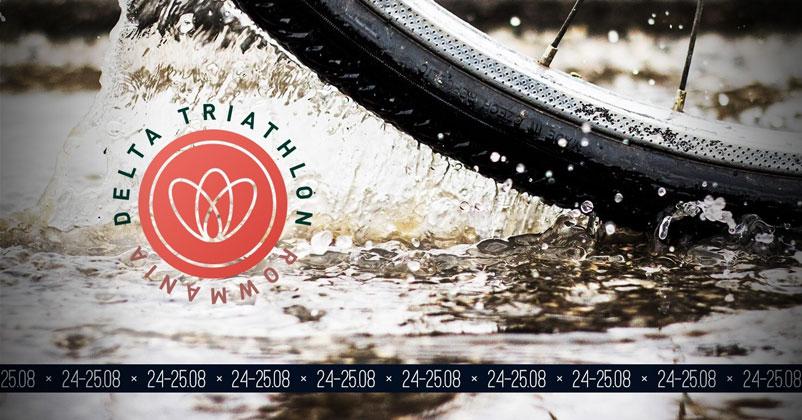 Rowmania Delta Triathlon 2019 - 24-25 august, la Tulcea