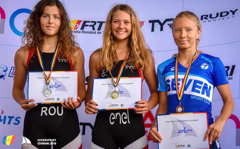Campionatul National de Stafeta Mixta si SuperSprint Triatlon Izvorani 2019