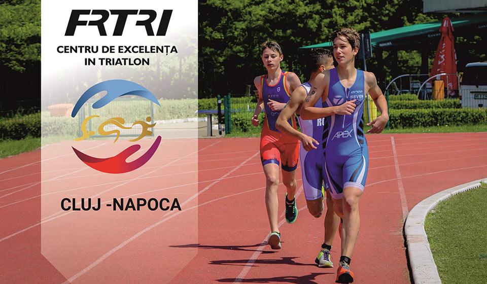 Selectie pentru Centrul Olimpic de Juniori de Triatlon - Cluj Napoca